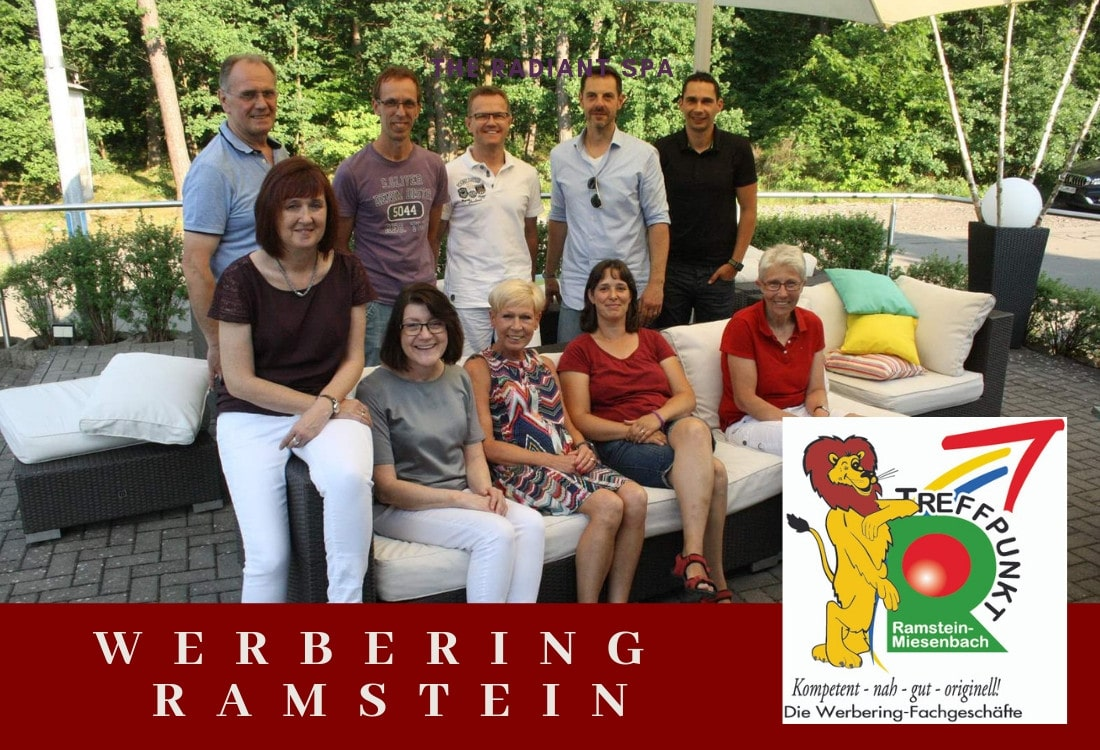 Gestaltete Seite des Werbering Ramstein durch M-Online-Solutions